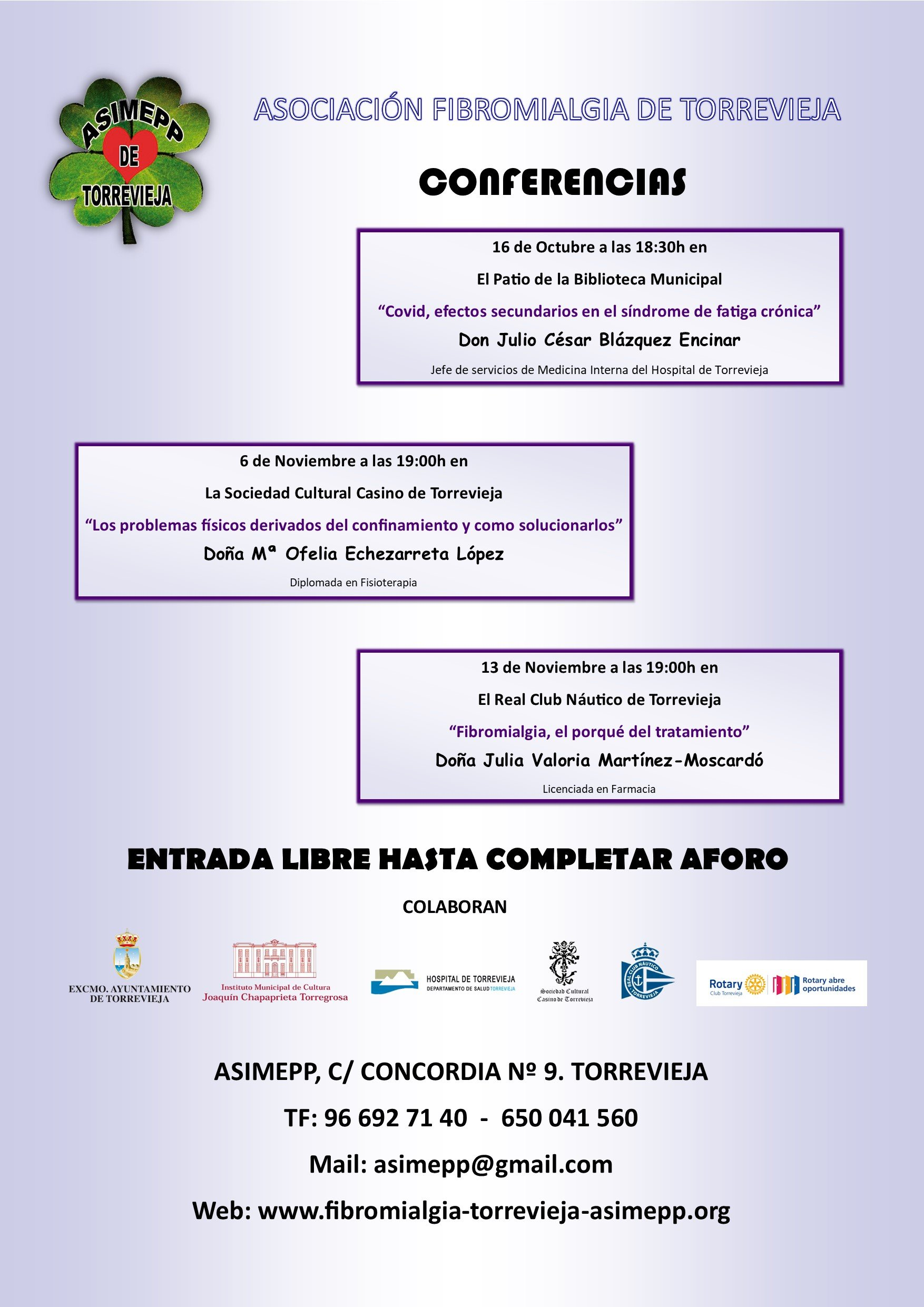 CARTEL CONFERENCIAS A3 MAIL